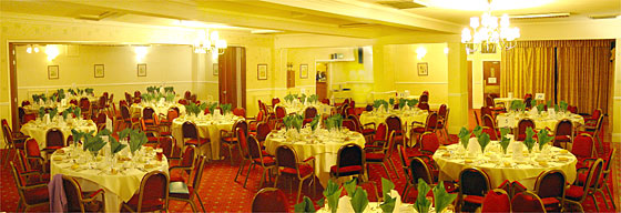 The Brokes Suite at Reigate Manor Hotel.