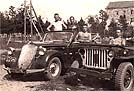 1939 Steyr 220 and Willys MB Jeep