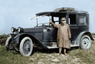Probably 1916 Vauxhall D type Limousine