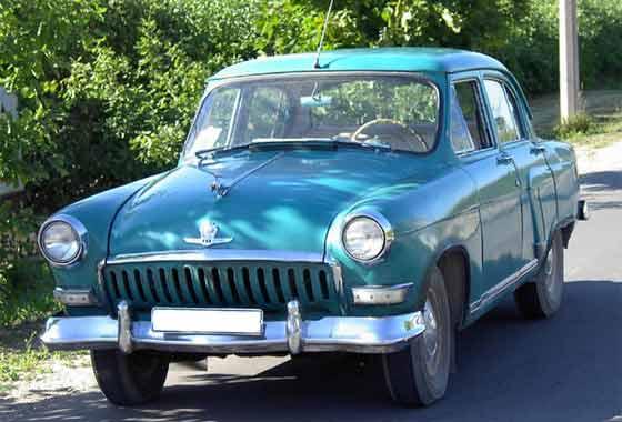 Russian Gaz Zim Zis And Uaz Cars