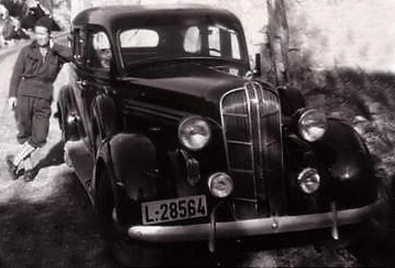 Svvs web assistance with classic vintage and veteran cars for 1936 dodge 4 door sedan