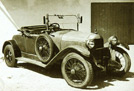 1926 De Dion Bouton IW Two-Seater