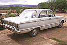 1963 Ford Falcon in South Africa